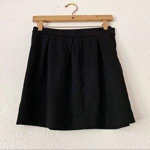 Madewell Black Skirt